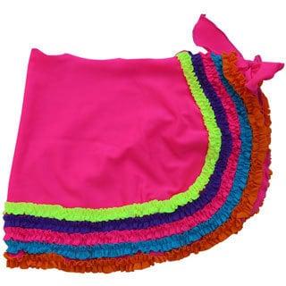 Azul Swimwear Girl's Pink Chasing Rainbows Pareo