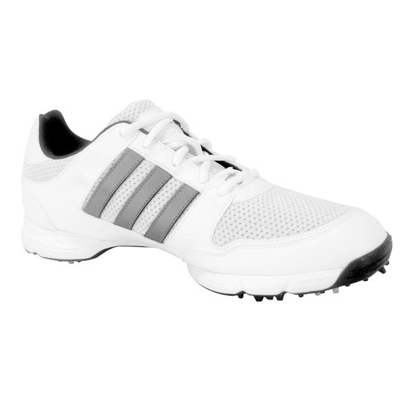 Adidas Men's White Tech Response 4.0 Golf Shoes