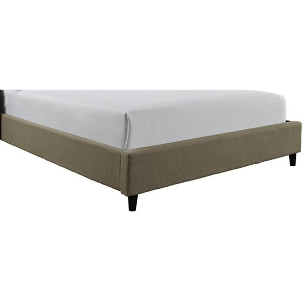 Powell Queen Upholstered Footboard and Rails