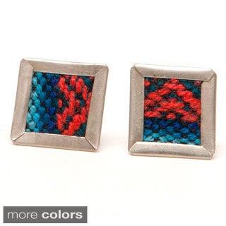 Escher Aguayo Stud Earrings (Bolivia)