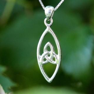 Sterling Silver Celtic Design Necklace (Thailand)