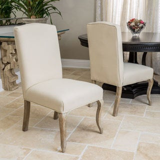 Christopher Knight Home Seville Fabric Dining Chair (Set of 2)