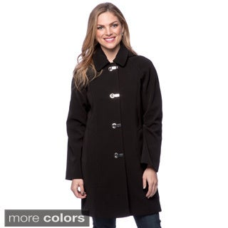 Women's London Fog Clip Coat
