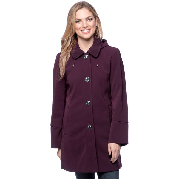 London Fog Women's Small Clip Walker Coat