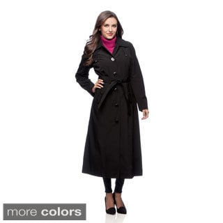 London Fog Full Length Coat with Hood