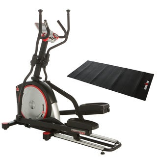 IRONMAN X-Class 610 Smart Technology Elliptical Trainer with Bluetooth, BONUS 122K Heart Rate Chest Belt and Equipment Mat