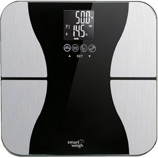 Smart Weigh Body Fat Digital Scale with Tempered Glass Platform