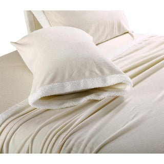 Ultra Soft Micro Fleece Sheets with Sherpa Trim
