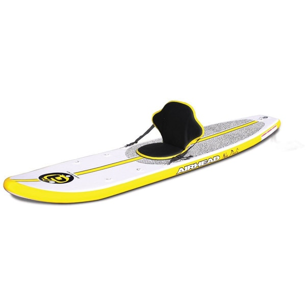 Airhead Na Pali Inflatable Stand Up Paddleboard - White/Yellow