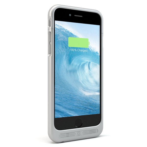 iPhone 6 Power Case Silver