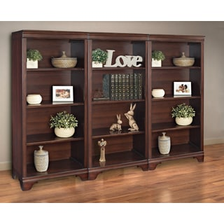Mulberry 55-inch 4-shelf Bookcase (Set of 3)
