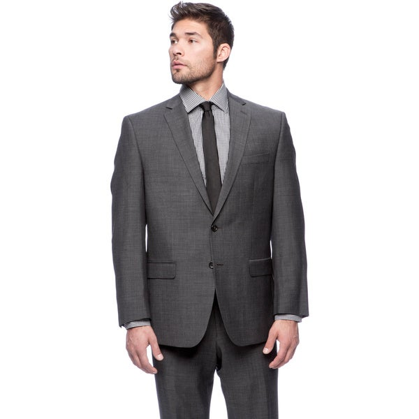 Michael Kors Black Wool Suit
