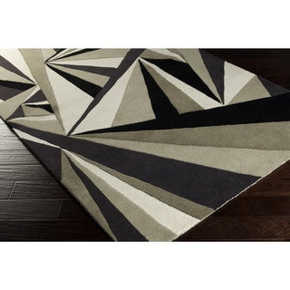 Hand-tufted Abstract Wool Area Rug (3'3 x 5'3)