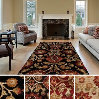 Alcorcon Floral Shag Accent Rug (2' x 3')