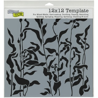 """Crafter's Workshop Template 12""""X12""""-Kelp Forest"""