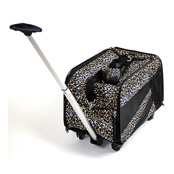 "Pet Smart Cart -Medium 20""X4""X11""-Leopard"