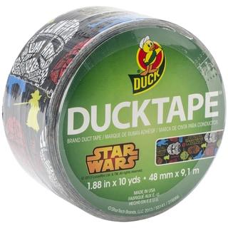 """Licensed Duck Tape 1.88""""X10yd-Star Wars"""