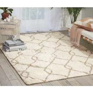 Nourison Galway Ivory/Tan Rug (5' x 7')