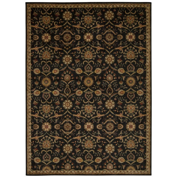 kathy ireland by Nourison Babylon Black Rug (3'9 x 5'9)