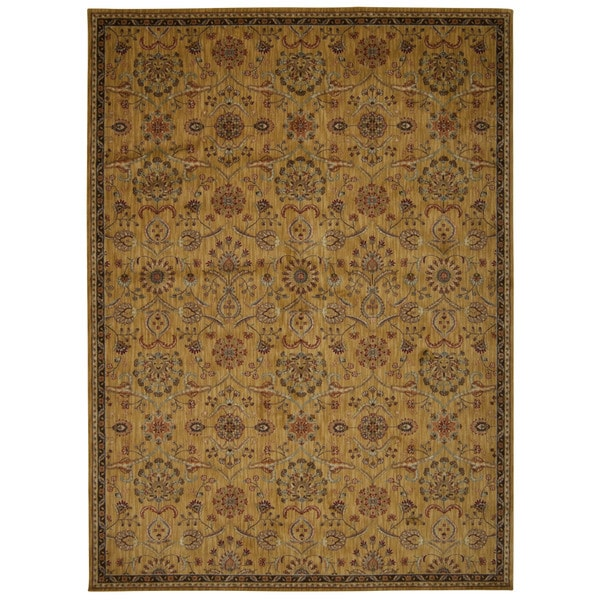 kathy ireland by Nourison Babylon Gold Rug (7'9 x 10'10)