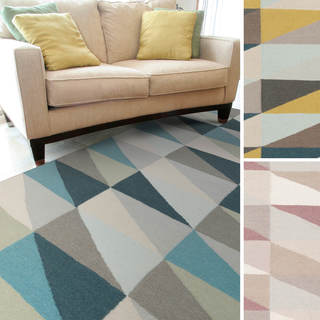 Bourges Flatweave Geometric Accent Rug (2' x 3')