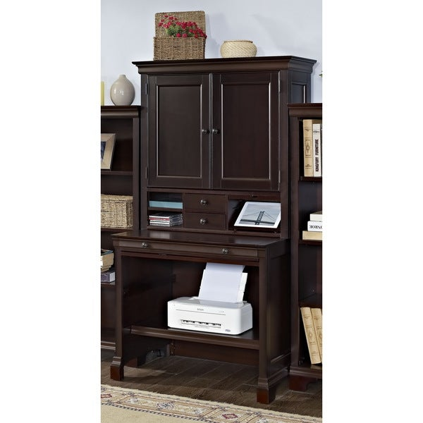 Mulberry Compact Computer Desk And Hutch 16677668