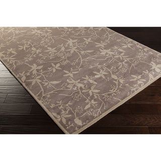 Hand-tufted Brumby Floral Wool Area Rug (8' x 11')