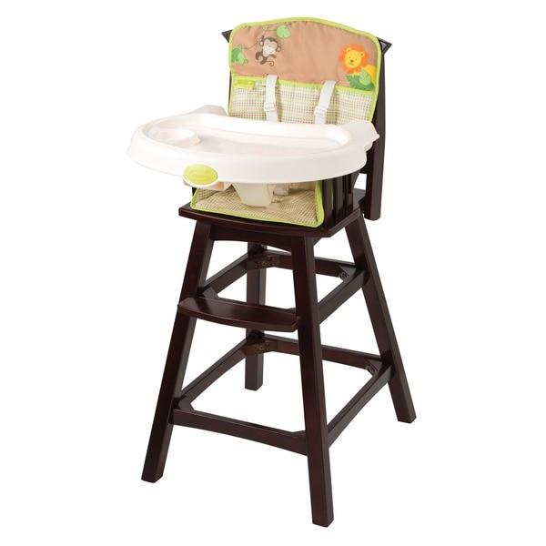 Summer Infant Swingin' Safari Classic Comfort Wood High Chair