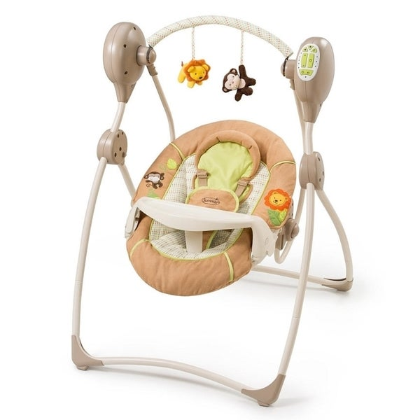 Summer Infant Swingin' Safari Sweet Sleep Musical Swing