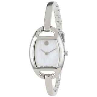 Movado Women's 606606 Museum White Mother of Pearl Watch