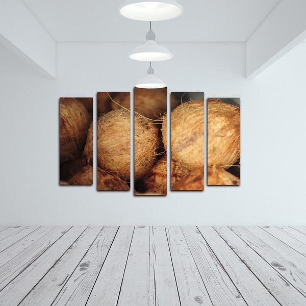 Nicola Lugo 'Coconuts' Canvas Wall Art