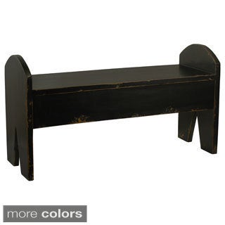 Maokai Distressed Accent Bench