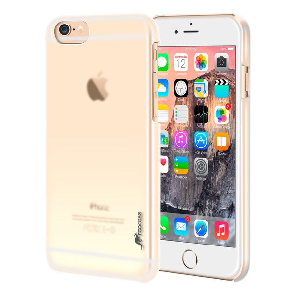rooCASE Slim Fit Median Series Hard Shell Case Cover for iPhone 6 Plus 5.5-inch