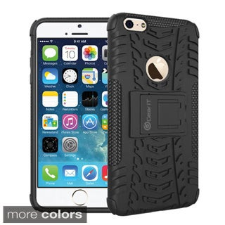 GearIt Trac Series Hybrid Rugged Tough Armor with Kickstand Case Cover for Apple iPhone 6 4.7-inch
