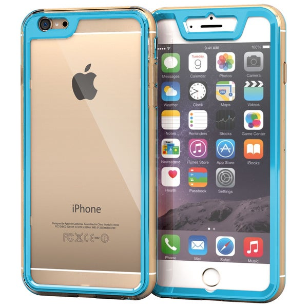 rooCASE Gelledge Slim Hybrid TPU/ PC Hard Shell Case for iPhone 6 Plus 5.5-inch