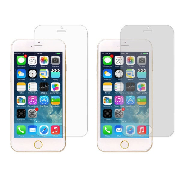rooCASE 4-pack Screen Protector Film for iPhone 6 Plus