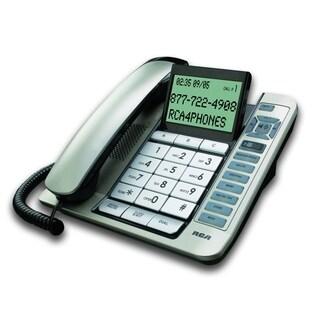 RCA Corded Desktop Speakerphone Desk Phone with Digital Answering System