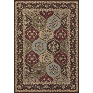 Marquis Multi Color Rectangular Rug (5'2 x 7'6)