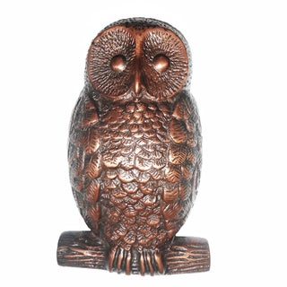 Highpoint Collection 5-inch Owl Door Knocker in Oil Rubbed Bronze