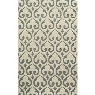 Saronic Arbor Ivory Rug (7'6 x 9'6)