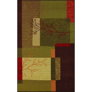 Quintessence Multi Color Rectangular Rug (4'5 x 6'9)