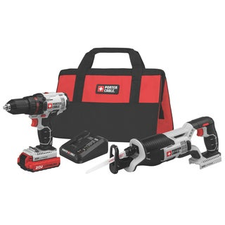 Black & Decker PC 20V Cordless Drill/ Driver/ Saw /Kit