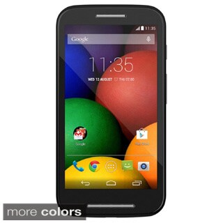 Motorola MOTO E XT Black Unlocked GSM Android Cell Phone