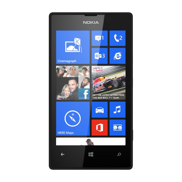 Nokia Lumia Black Unlocked GSM Windows 8 OS Cell Phone (Refurbished)