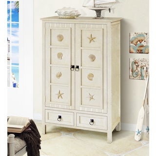 Gallerie Decor Solid Wood Coastal Chest
