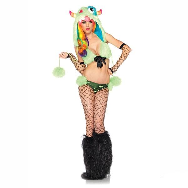 Leg Avenue Women's 'Superstar Monster' 3-piece Costume