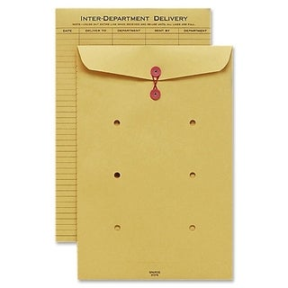Sparco String and Button Close Inter-department Envelopes (Box of 100)