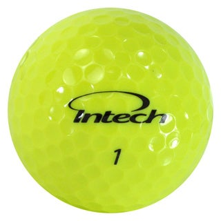 Intech Beta Ti AccuDistance High Visibility Yellow Golf Balls (16-pack)