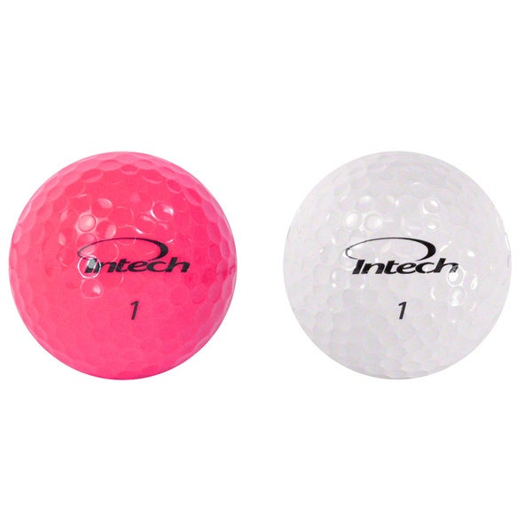 Intech Beta Ladies Golf Balls 3 Box Bundle, Pink/ White48 Ball Pack(Pack of 3)