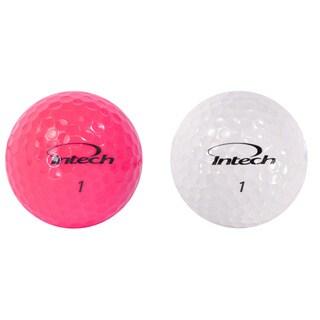 Intech Beta Ladies Golf Balls 3 Box Bundle, Pink/ White48 Ball Pack(Pack of 3)